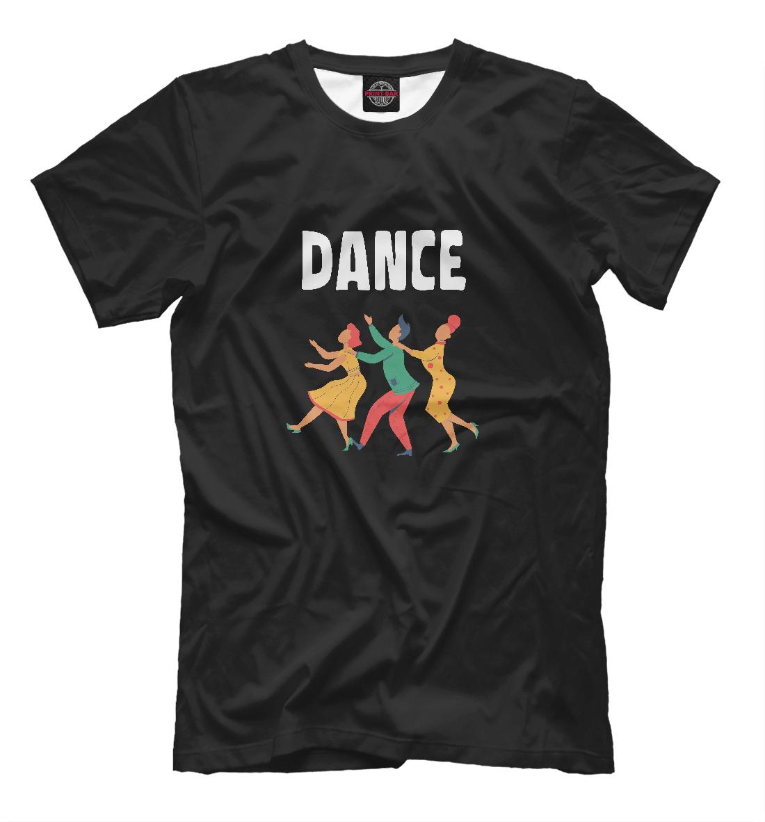 «Танцы» — футболка мужская, артикул: DNC-292845-fut-2