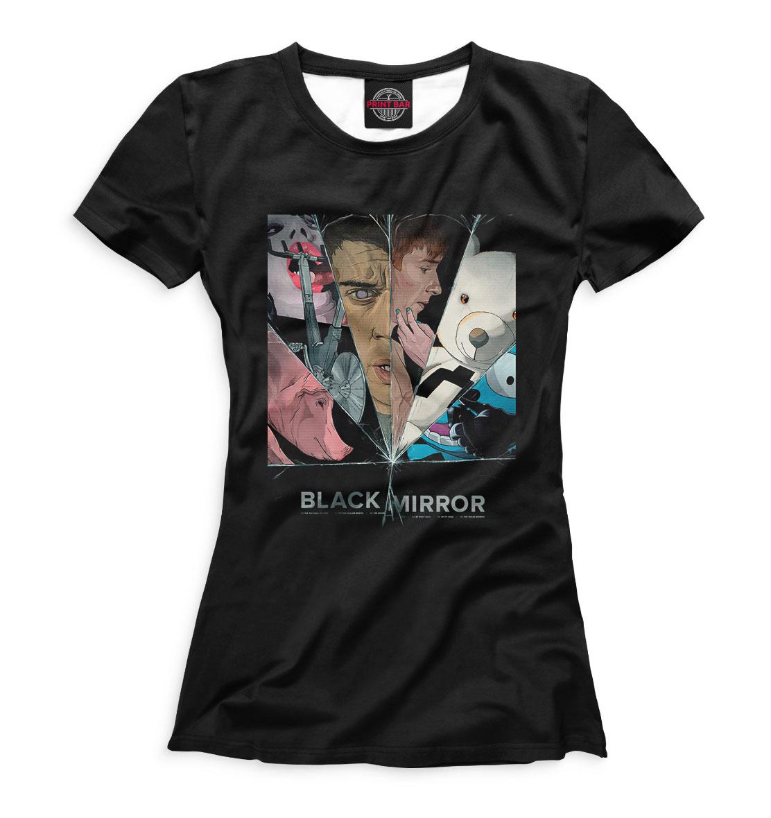 «Black Mirror» — футболка женская, артикул: BLM-183244-fut-1