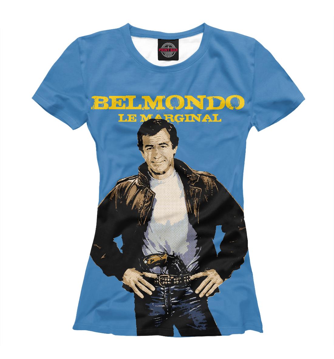 «Бельмондо» — футболка женская, артикул: ZNR-217782-fut-1