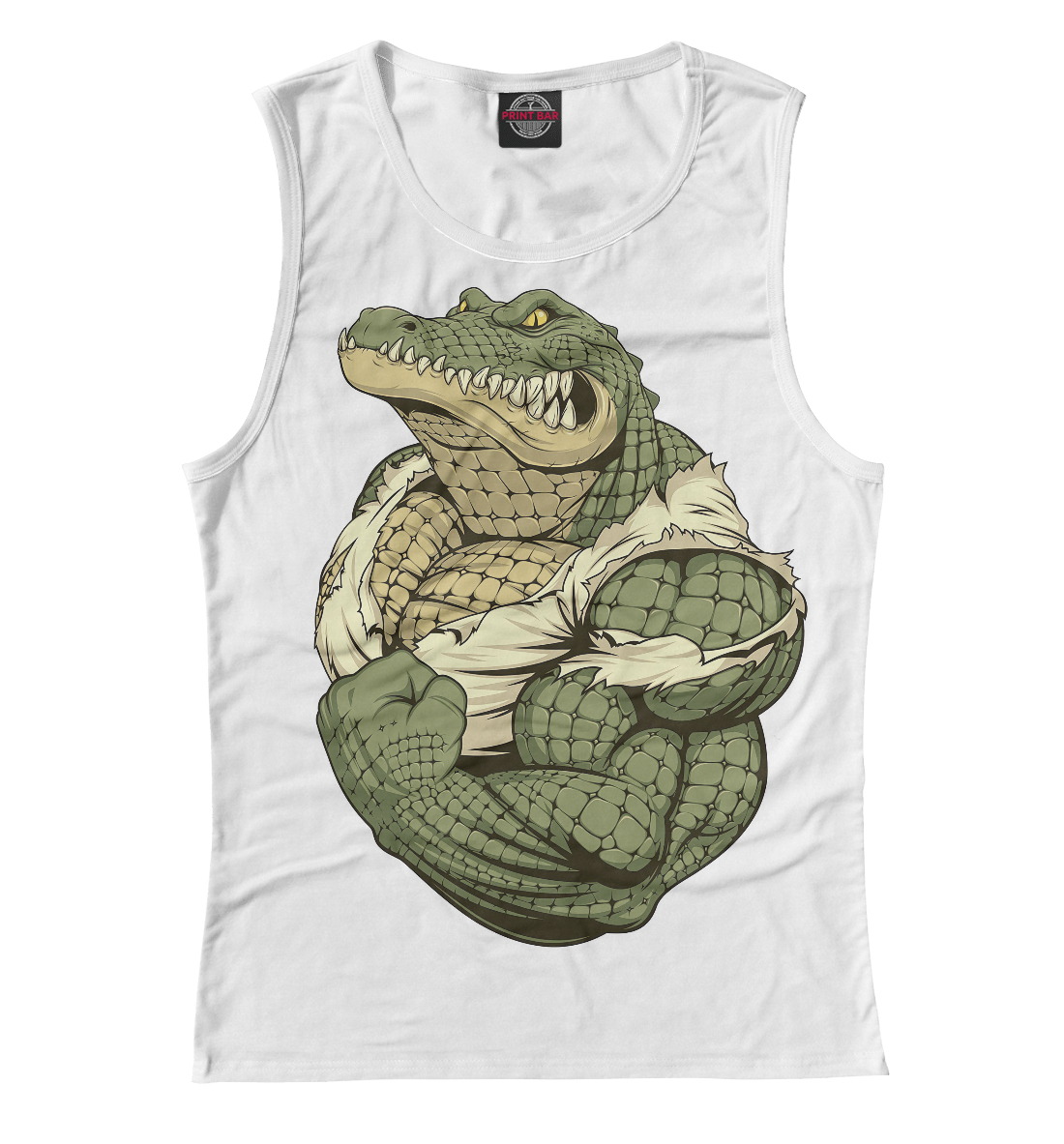 «Крокодил» — майка женская, артикул: ZIR-403539-may-1