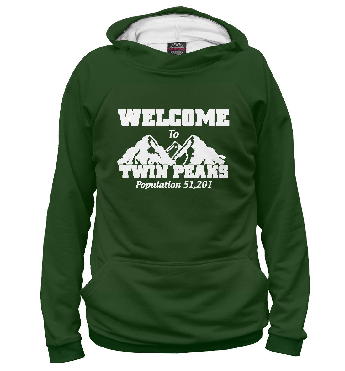 «Welcome to Twin Peaks» — худи женское, артикул: SOT-688386-hud-1