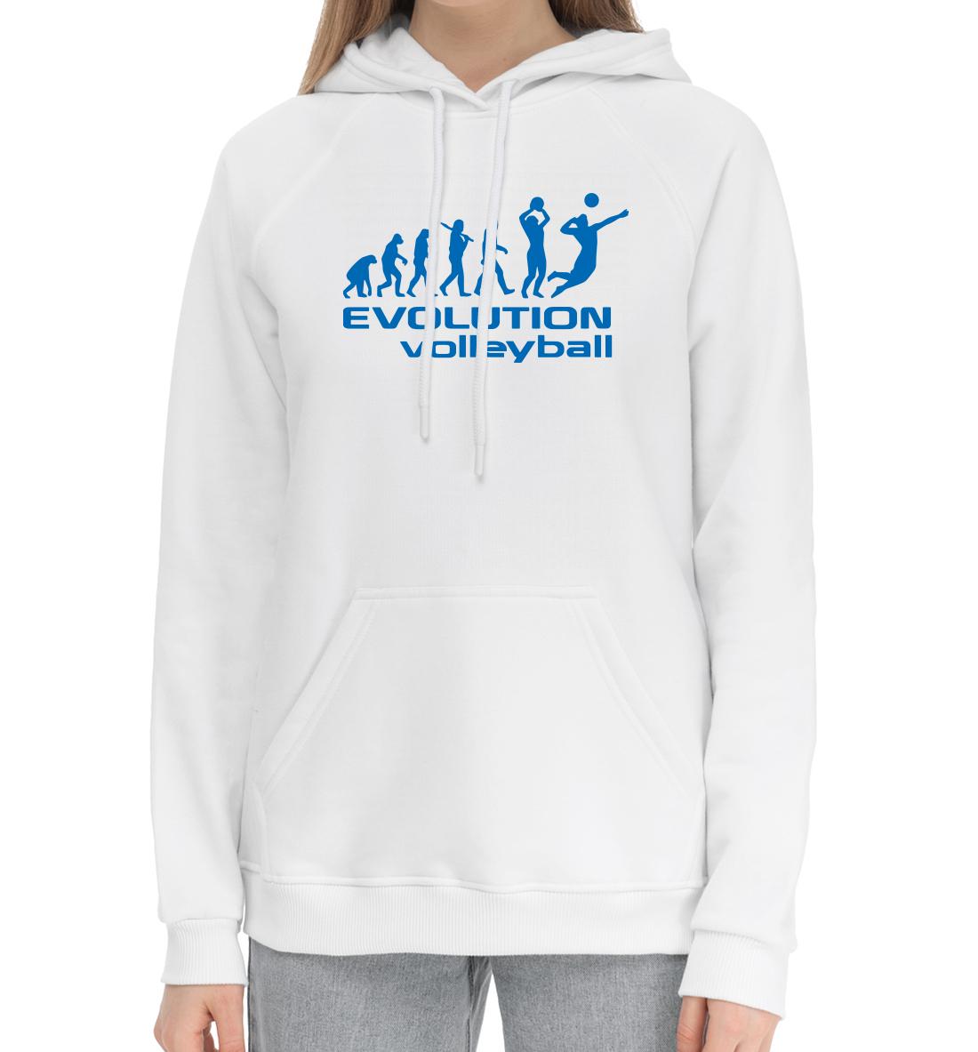 «Volleyball evolution» — хлопковый женский, артикул: VLB-185248-hhu-1